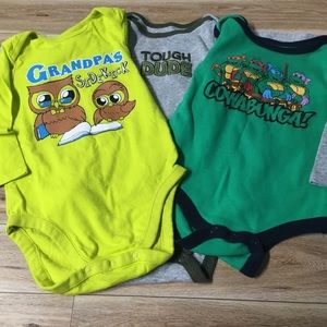 Other - Lot of 3 Long Sleeve Onesies